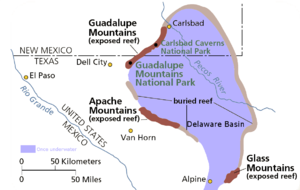The Delaware Basin in West Texas